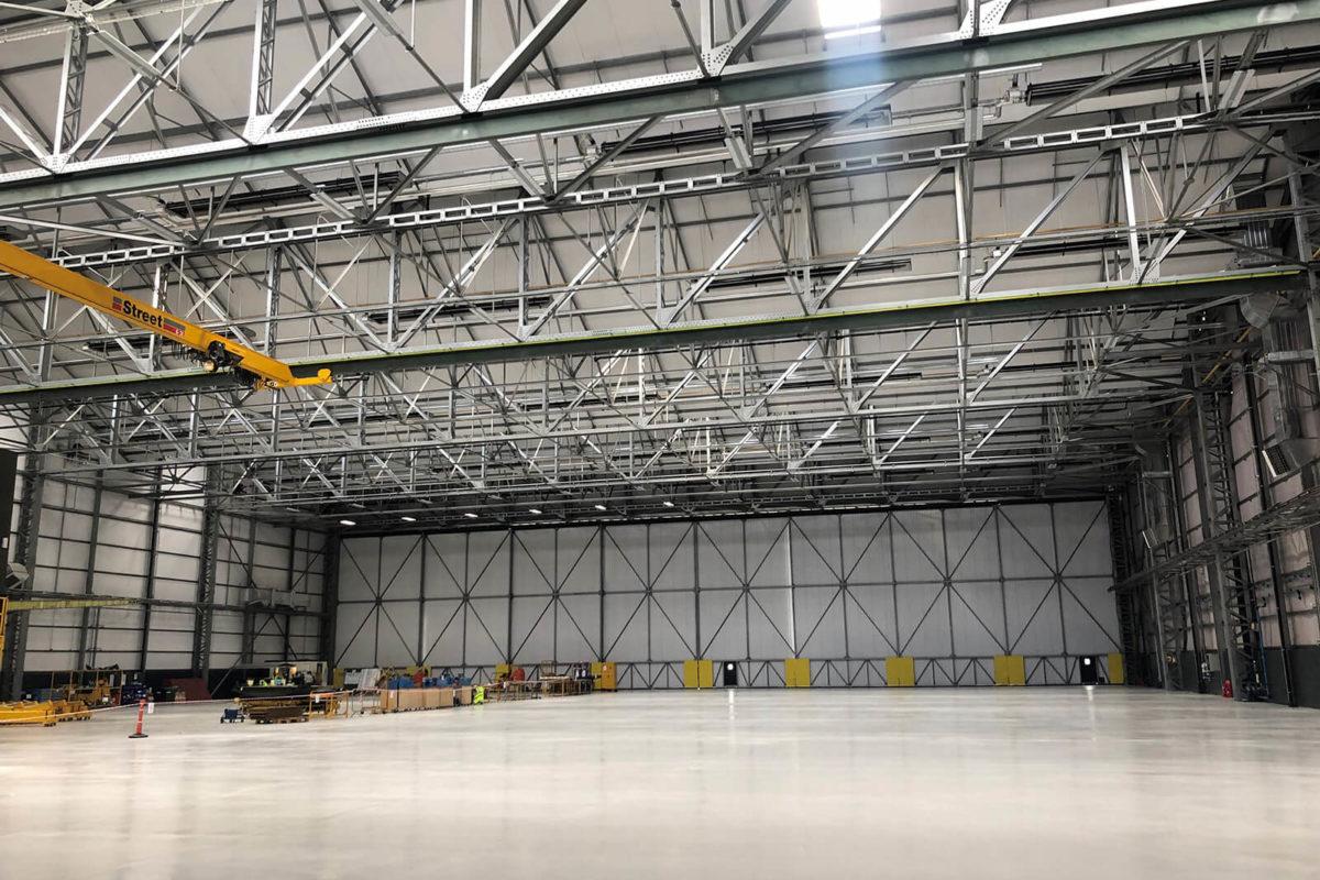 Hangar 10 Refurbishment